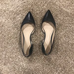 Black Marc Fisher Flats